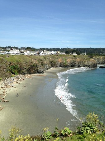 Sweetwater Inn and Spa: View of Mendocino