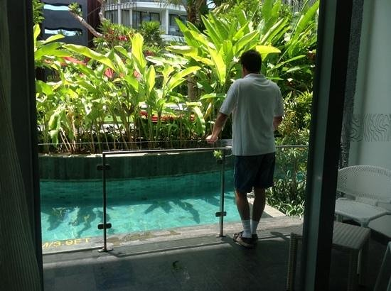 Le Meridien Bali Jimbaran : straight out of the room and into the pool