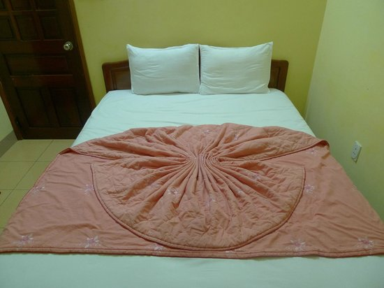 Phong Lan (Wild Orchid) Guesthouse: Lovely touch...