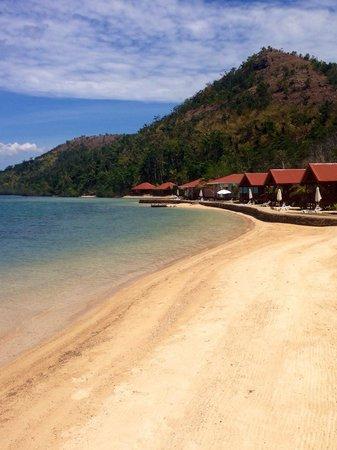 El Rio y Mar Resort : Beach area