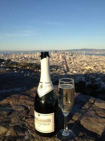 Silver Lion Service - Private Tours : Champagne to toast our great day, thanks Holger