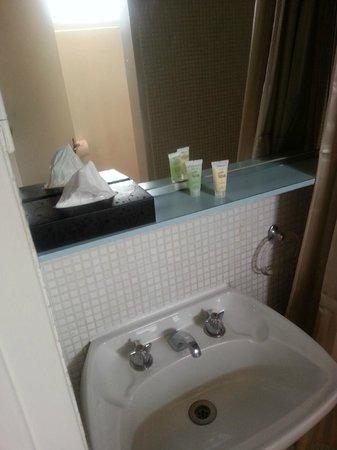 George Powlett Apartments: bathroom sink