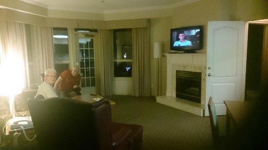 Delta Hotels Grand Okanagan Resort: Sitting area