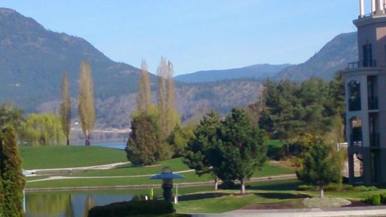 Delta Hotels Grand Okanagan Resort: View