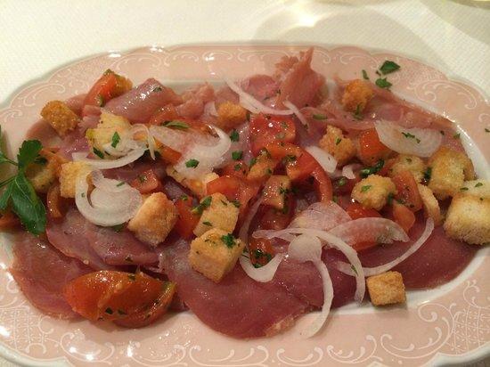 Il Gambero : Smoked tuna