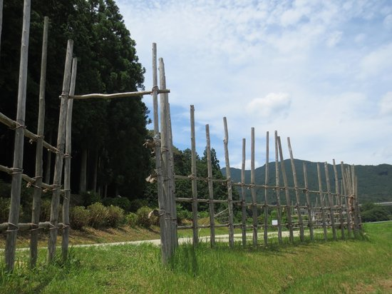 Shitaragahara Battlefield : 再現された馬防柵