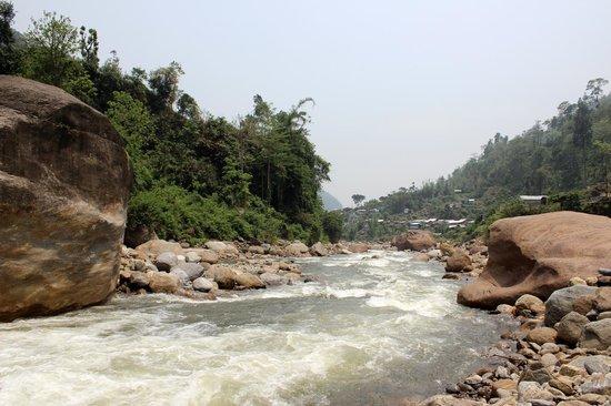Bindu Dam: Jaldhaka River @ Bindu