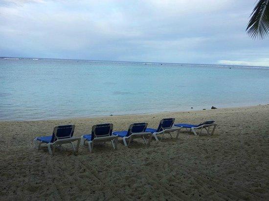 The Rarotongan Beach Resort & Spa : Beautiful beach