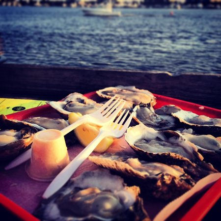 Emerald Grande at HarborWalk Village: oysters!