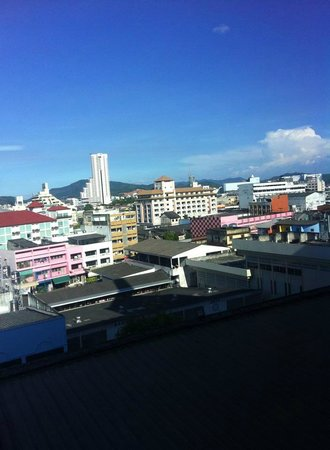 Hatyai Central Hotel: View from the room