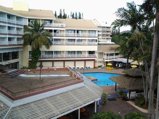 Le Surf Hôtel : Pool view