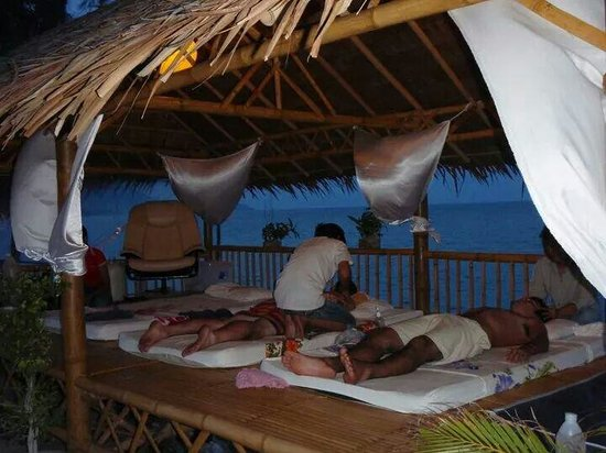 Cosy Bungalows: Thai massage.
