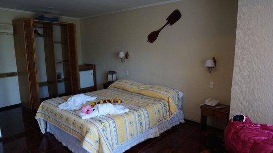 O'tai Hotel: ベッド