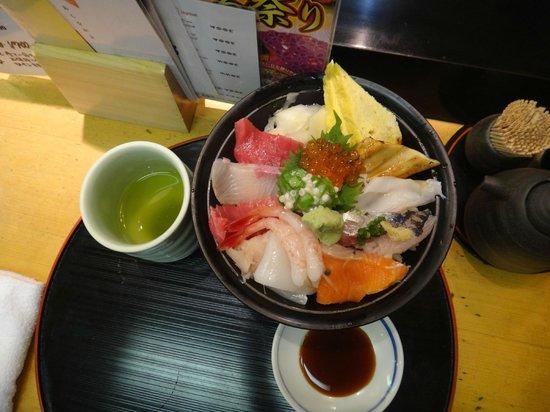 Sushizanmai Tsukijiekimae: Вкусно