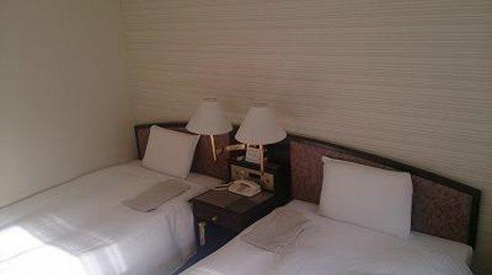 Hotel Sunroute Plaza Fukushima: 私には寝ごこちが良いベット