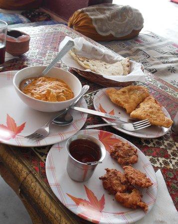 Pushkar's Cafe: Todo muy rico
