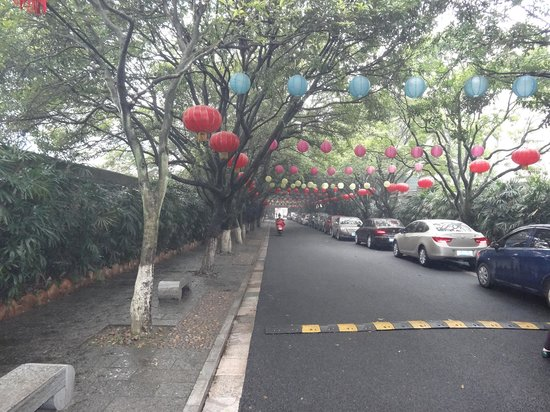 Fubo Hill : Road leading to attraction