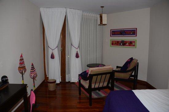 Hotel Rosario Lago Titicaca : la mia stanza