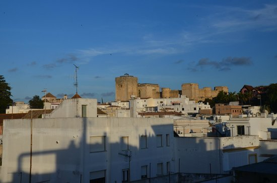 Hotel Barrameda: Вид с крыши отеля