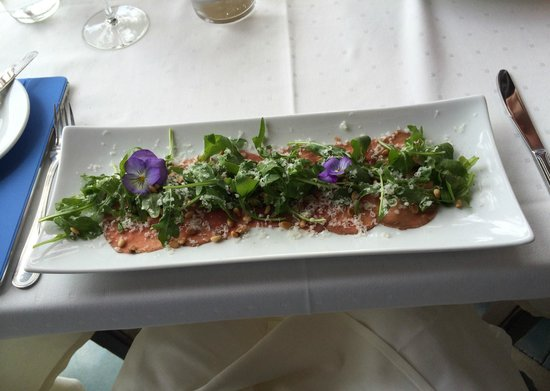 By Larius: Beef carpaccio