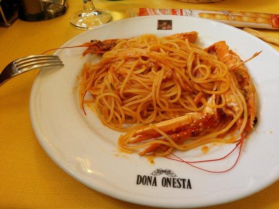 Dona Onesta: パスタの中でも一番好きな