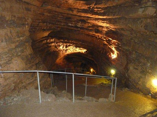 Abime de Bramabiau : Part of the interior
