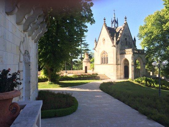 Chateau de Mirambeau : Parc