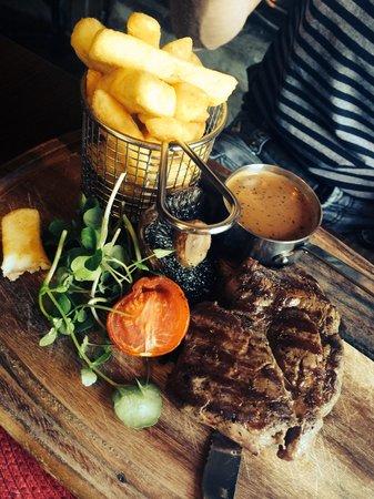 The Ruperra: Ribeye steak