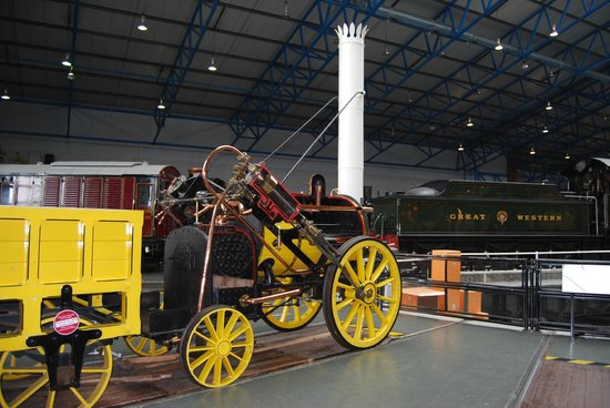 National Railway Museum: A copy of the 'Rocket