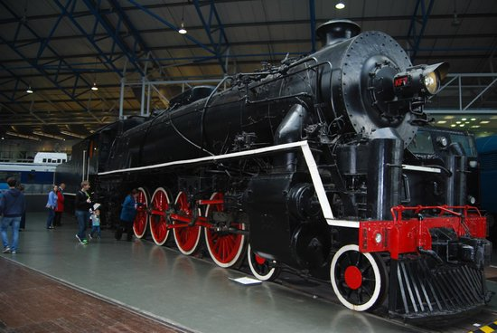 National Railway Museum: Built in England,worked in China
