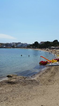 Intertur Hotel Miami Ibiza : Es Canar beach