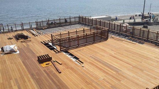 Sarushima Island (Monkey Island): Under Renovation (18 May, 2014).