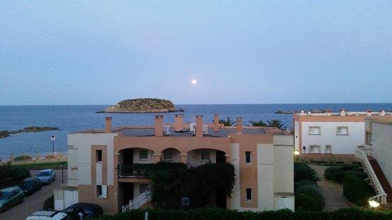 Alua Miami Ibiza : Dusk from the room