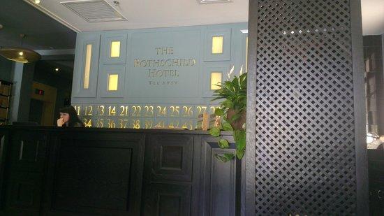 The Rothschild Hotel - Tel Aviv's Finest : lobby