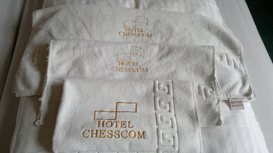 Hotel Chesscom: room