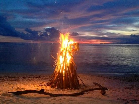 The Exile: Bonfire on the Beach