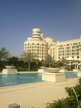 Waldorf Astoria Ras Al Khaimah: View from the Pool