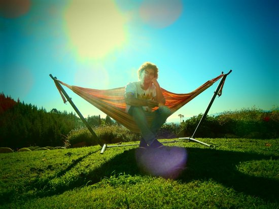 Get Real Backpackers: relaxing!
