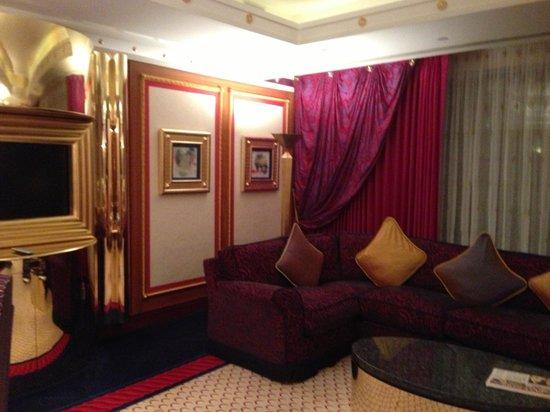 Burj Al Arab Jumeirah: Downstairs lounge