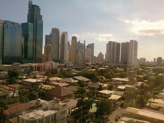 City Garden Hotel Makati: View from a room on the 9th floor