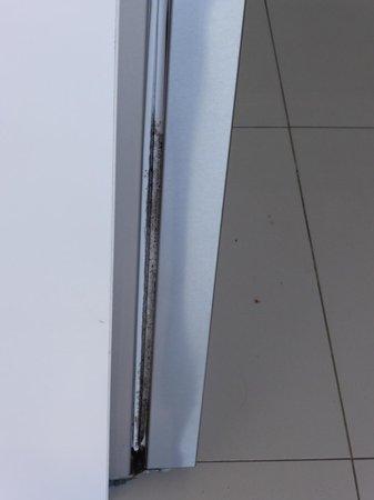 Maison Noosa - Luxury Beachfront Resort: mould on fridge