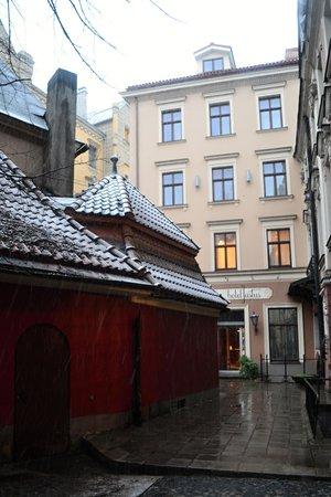 Hotel Justus: Общий вид здания