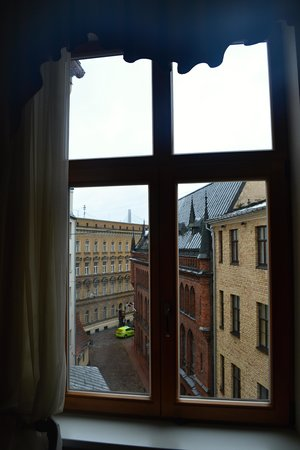Hotel Justus: Виз из окна