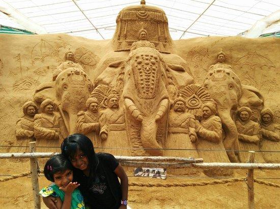 Mysore Sand Sculpture Museum: Jumbo Savaari