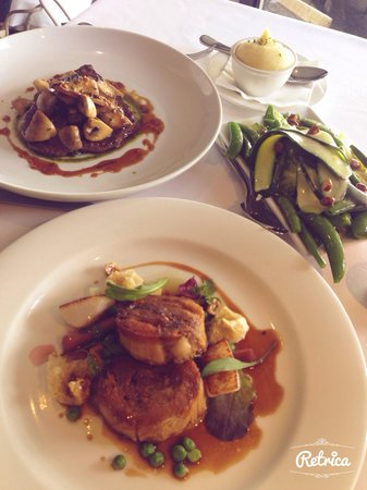 The Cowrie: Tasmanian beef and scallop and pork