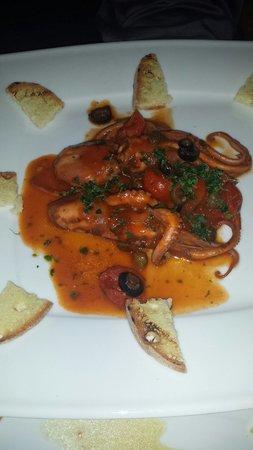 La Taverna dell' Etna : Polipetti alla luciana..