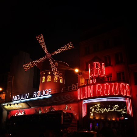 Moulin Rouge: Iconic Red Mill