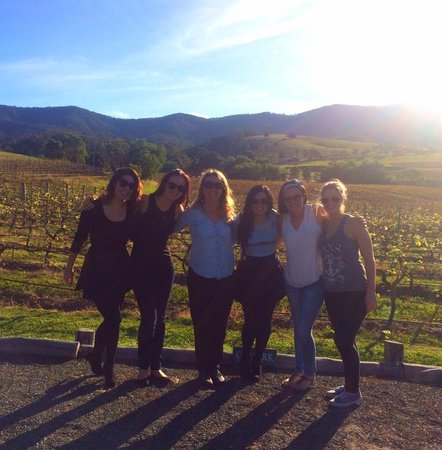 Hunter Valley Wine Tasting Tours : Our group with Jenny!