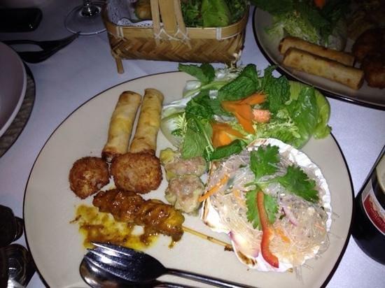 Thai Garden 2112: Entradas Thai