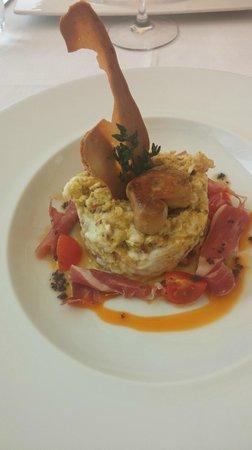 D'gust: Huevos rotos con jamón Iberico y foie